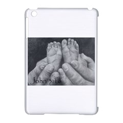 John 3:16 Apple iPad Mini Hardshell Case (Compatible with Smart Cover)