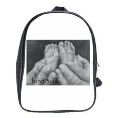 John 3:16 School Bag (xl)