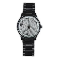 John 3:16 Sport Metal Watch (Black)