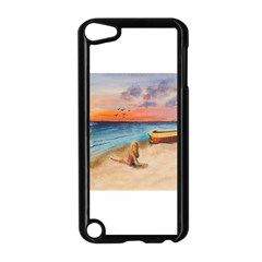 Alone On Sunset Beach Apple iPod Touch 5 Case (Black)