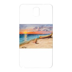 Alone On Sunset Beach Samsung Galaxy Note 3 N9005 Hardshell Back Case