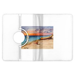Alone On Sunset Beach Kindle Fire HDX 7  Flip 360 Case