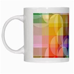 circles White Coffee Mug