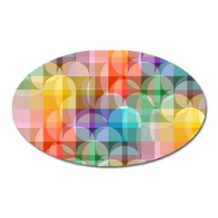 circles Magnet (Oval)