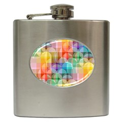 circles Hip Flask