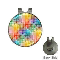 Circles Hat Clip With Golf Ball Marker