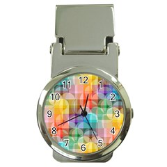 Circles Money Clip With Watch