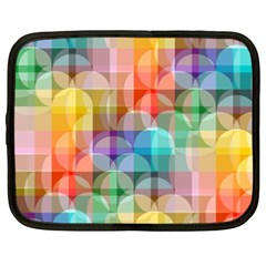 Circles Netbook Sleeve (xxl)