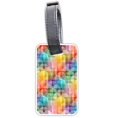 circles Luggage Tag (One Side)