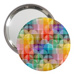 Circles 3  Handbag Mirror
