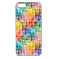 Circles Apple Seamless Iphone 5 Case (color)