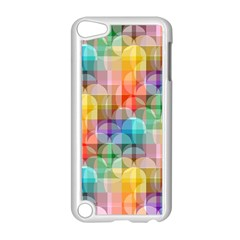 Circles Apple Ipod Touch 5 Case (white)