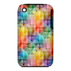 circles Apple iPhone 3G/3GS Hardshell Case (PC+Silicone)