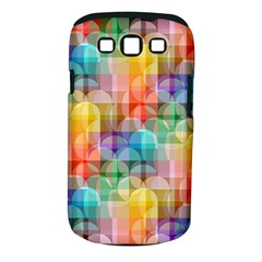 Circles Samsung Galaxy S Iii Classic Hardshell Case (pc+silicone)