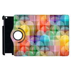 Circles Apple Ipad 3/4 Flip 360 Case