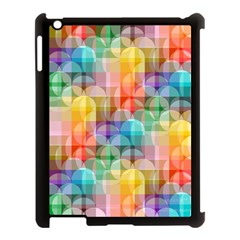 circles Apple iPad 3/4 Case (Black)
