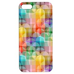 circles Apple iPhone 5 Hardshell Case with Stand
