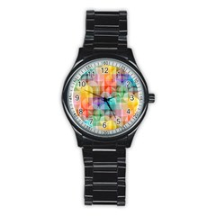 Circles Sport Metal Watch (black)