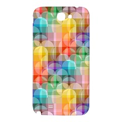 circles Samsung Note 2 N7100 Hardshell Back Case