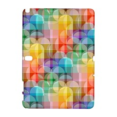 circles Samsung Galaxy Note 10.1 (P600) Hardshell Case