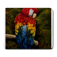 Preening Large Mouse Pad (Rectangle)