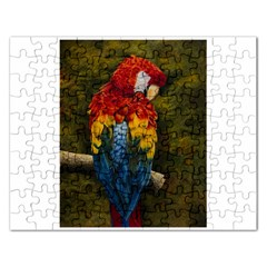Preening Jigsaw Puzzle (Rectangle)