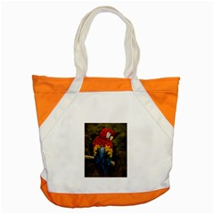 Preening Accent Tote Bag