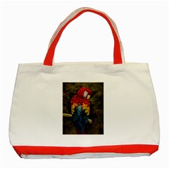 Preening Classic Tote Bag (Red)