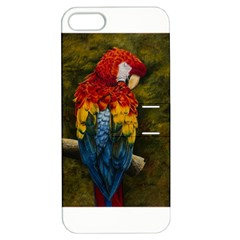 Preening Apple Iphone 5 Hardshell Case With Stand
