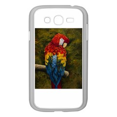 Preening Samsung Galaxy Grand DUOS I9082 Case (White)