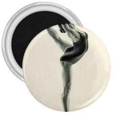 Attitude 3  Button Magnet