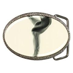 Attitude Belt Buckle (oval)