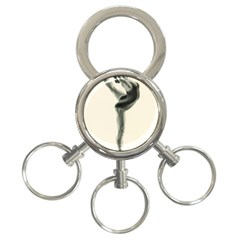 Attitude 3-Ring Key Chain