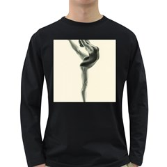 Attitude Men s Long Sleeve T-shirt (Dark Colored)
