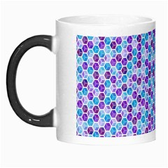 Purple Blue Cubes Morph Mug