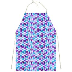 Purple Blue Cubes Apron