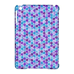Purple Blue Cubes Apple Ipad Mini Hardshell Case (compatible With Smart Cover)