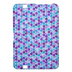 Purple Blue Cubes Kindle Fire HD 8.9  Hardshell Case