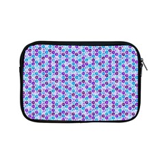 Purple Blue Cubes Apple iPad Mini Zippered Sleeve