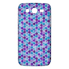 Purple Blue Cubes Samsung Galaxy Mega 5 8 I9152 Hardshell Case