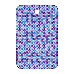 Purple Blue Cubes Samsung Galaxy Note 8.0 N5100 Hardshell Case