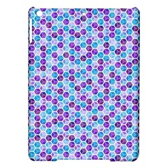 Purple Blue Cubes Apple iPad Air Hardshell Case