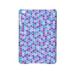 Purple Blue Cubes Apple iPad Mini 2 Hardshell Case
