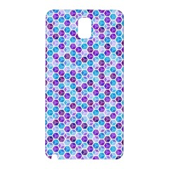 Purple Blue Cubes Samsung Galaxy Note 3 N9005 Hardshell Back Case