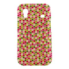 Pink Green Beehive Pattern Samsung Galaxy Ace S5830 Hardshell Case