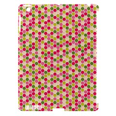 Pink Green Beehive Pattern Apple iPad 3/4 Hardshell Case (Compatible with Smart Cover)
