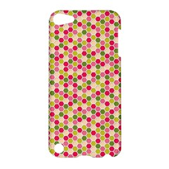 Pink Green Beehive Pattern Apple Ipod Touch 5 Hardshell Case