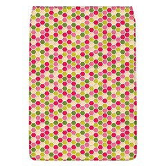 Pink Green Beehive Pattern Removable Flap Cover (Large)
