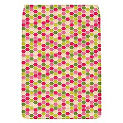 Pink Green Beehive Pattern Removable Flap Cover (small)