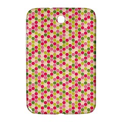 Pink Green Beehive Pattern Samsung Galaxy Note 8.0 N5100 Hardshell Case